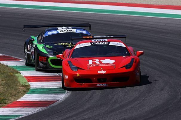la CA.AL. Racing con una Ferrari 458 Italia
