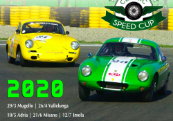 CALENDARIO CLASSIC SPEED CUP 2020